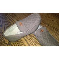Новые удобные туфли мокасины