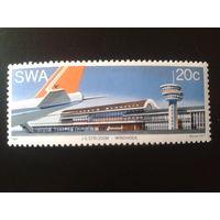 Юго-западная Африка 1977 аэропорт полная серия