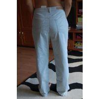 Брюки голубой джинс . Из Италии