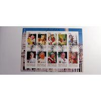 Кот Д`Ивуар 2012. Папа Иоанн Павел 2. Блок