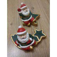 Санта Клаус, статуэтка-подсвечник, пр-во Германия