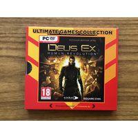 """Коробка с диском """"Deus Ex: Human Revolution"""" (без ключа)"""