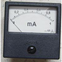Миллиамперметр 0-1 мА