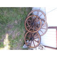 4 колеса от старинной брички