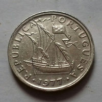 2,5 эскудо, Португалия 1977 г.