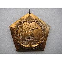 Медаль. ДОСААФ (в золоте)