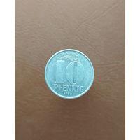 Германия / 10 pfennig (A) / 1978 год