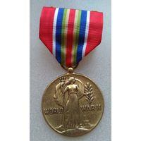 США.Медаль за победу во 2МВ,для торгового флота.