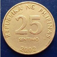 25 сентимос 2002 ФИЛИППИНЫ