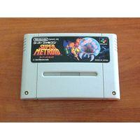Картридж SNES Super Metroid NTSC-J