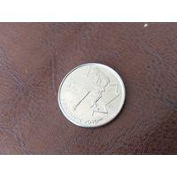 25 центов 2007 Канада ( XXI зимние Олимпийские Игры, Ванкувер 2010 - Хоккей )