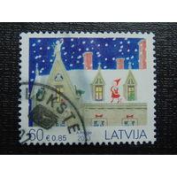 Латвия 2013г. Рождество.