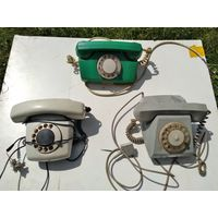 Дисковый ретро-телефон пр-во СССР
