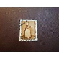 ГДР 1955 г.  Швейцарский художник -Жан-Этьен Лиотар.Шоколадница.