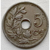 Бельгия 5 сантим 1910