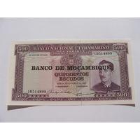 Мозамбик. 500 эскудо 1976 год  UNC