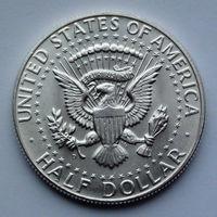 США 1/2 доллара. 1964. D. Kennedy Half Dollar