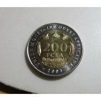 КФА 200 франков 2003