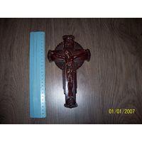 Крест карболитовый католический