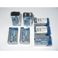 "Батарейка крона 9 в. ""Robiton"" (Alkaline)."