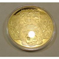 Очень красивая ,подарочная медаль.