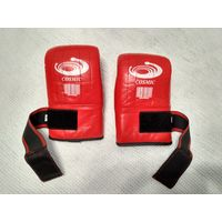 Перчатки боксерские кожаные снарядные Cosmic размер L