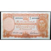 Австралия, 10 шиллингов 1942 год, Р25
