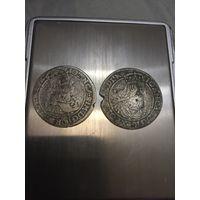 Два шестигрошевика 1667,1363