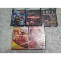 Сборный лот диски игры+кино