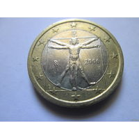 1 евро, Италия 2006 г.