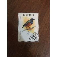 Танзания 1992. Птицы Superb Starling
