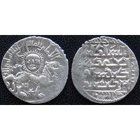 YS: Сельджуки, Румский султанат, Гияcеддин Кей-Хосров I, 12-13 век, 1 дирхам 1164-1211 (559-607AH), лев, серебро