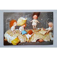 Гапчинская (2) Поздравительная открытка. Дети. Россия. Открытка прошлых лет