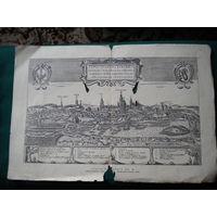 Гравюра  1932 г -1933 г Польша