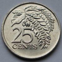 Тринидад и Тобаго, 25 центов 1999 г.