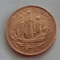 1/2 пенни, Великобритания 1966 г., AU