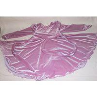 Платье велюр р. 122-128
