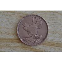 1 пенни 1935 Ирландия КМ# 3 бронза
