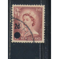 GB Новая Зеландия 1958 ЕII Надп Стандарт #373