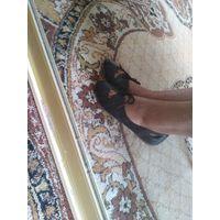 Туфли балетки кожа р.38.5