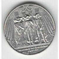 Франция 1 франк 1989 года. Cостояние аUNC!