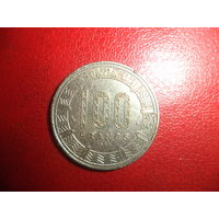 100 франков 1983 Конго