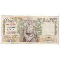 Греция. 1000 драхм 1935 г.
