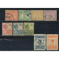 NL Колонии Нидерландская Индия (Индонезия) 1922 Вильгельма Номинал Стандарт #139-44,146-8