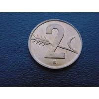 Швейцария 2 раппена 1948 года В.