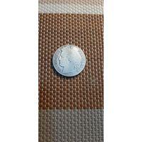 Франция 1 франк 1881