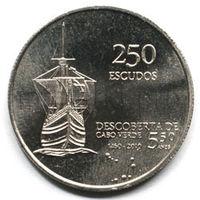 Кабо-Верде 250 эскудо 2010 года. 35 лет независимости