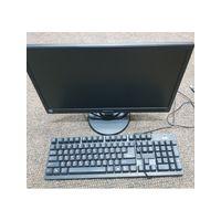 Мини ПК Foxconn  NT-IBT19с монитором PHILIPS 19'' V193,  Intel Celeron CPU J1900 1.99GHz, DDR3 4Gb, Intel HD Graphics, SSD 60Gb, хорошее рабочее состояние, в комплекте клавиатура, мышка, кабеля, гаран