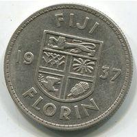 ФИДЖИ - ФЛОРИН 1937 !!!