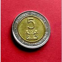 06-06 Кения, 5 шиллингов 2010 г.